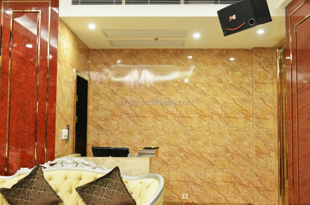 New Design Interior Marble Wall Panel/decorative Pvc Wall Sheet ...