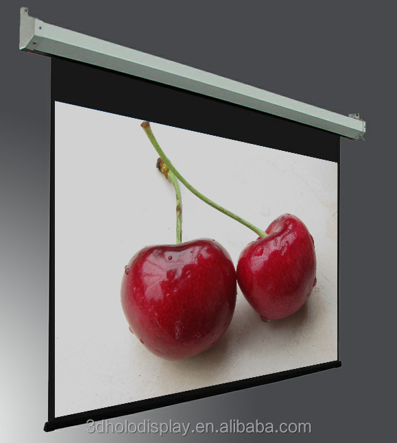 400 Inch Electric Projector Screen,Roll Up Projection Screen Motorized