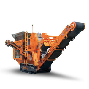 Electronic Homemade Rock Tracked Mobile Cone Crusher