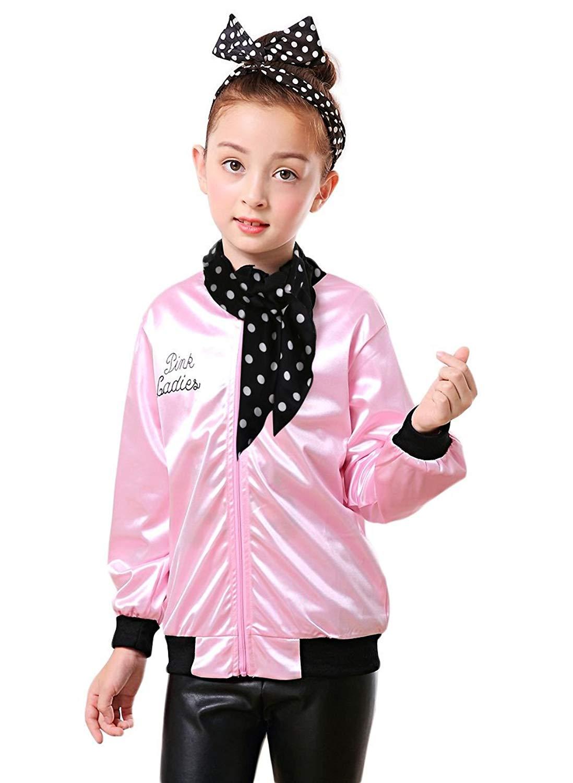 494e2e88f810 Cheap Pink Ladies Kids Jacket