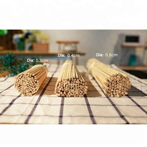 High quality low price green big thick bamboo stick