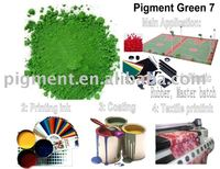 Pigment Green 7 for Printing ink,Coating,Plastic,Textile printing