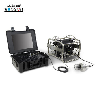 Water well deep borehole CCTV inspection camera with 360 degree rotation camera