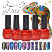 Free Shipping Hot Sale New Brands Gel Nail Polish Soak off UV/LED Color Gel Polish UV Nail Gel