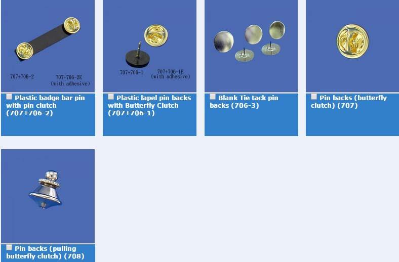 Butterfly Clutch Pin Back,Badge Bar Pin ;butterfly Bar Pin,Bar Pin ...