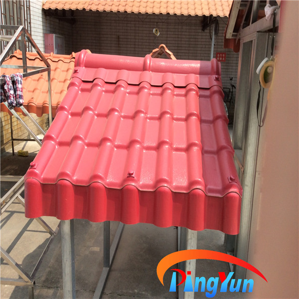 Fiber Corrugated Sheet Roof Flexible Waterproofing Roof