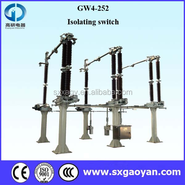 GW4 Series Electrical isolator manufacturers