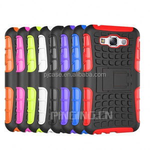 pc+silicon shockproof Back cover for sumsung Galaxy S5 Active G870, for sumsung Galaxy S5 Active G870 hybrid combo case