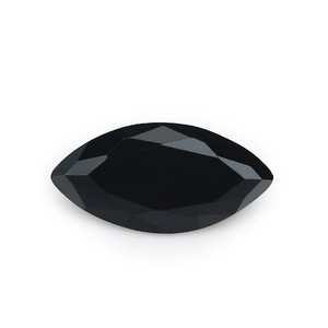 5A Black Marquise Shape Loose Cubic Zirconia Gemstone