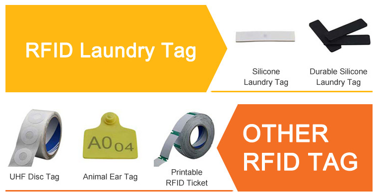 Custom UHF clothing RFID tag for anti theft security system