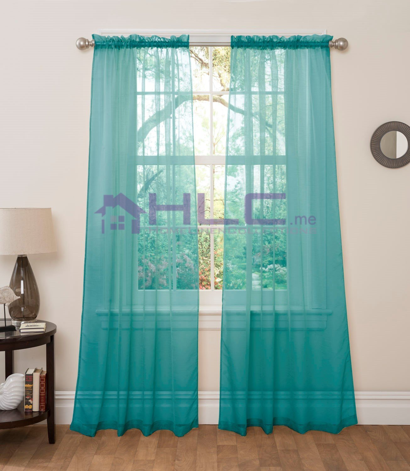 eyelet with itm curtain blue curtains swag swags pelmet sheer panel valance teal beaded drapes blockout