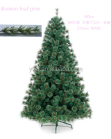 artificial plant artificial spruce fir tree plastic artificial pine needles christmas tree