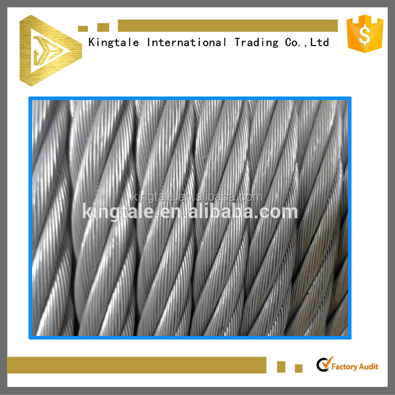 7X19 Steel Wire Rope for Floating Transportation of Wood