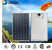 Solar products photovoltaic the street light 250w poly solar panel