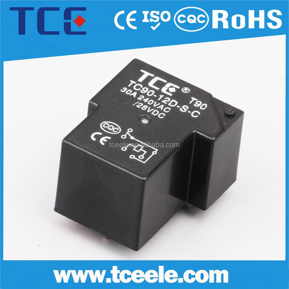 T90 T91 T93 30A 40A PCB Relay