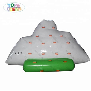 Factory outlet inflatable water iceberg water toy For Floating water park