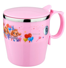 High quality PP stainless tableware kids cup