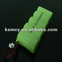 SC3000 6V Ni-Mh rechargeable battery pack