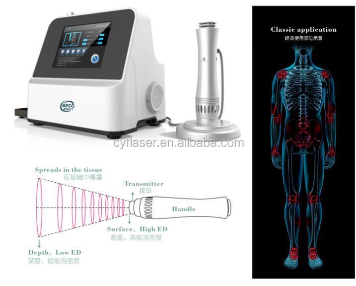 2018 Stoßwellen- / Equine-Stoßwellentherapie / Schallwellen-Therapiemaschine