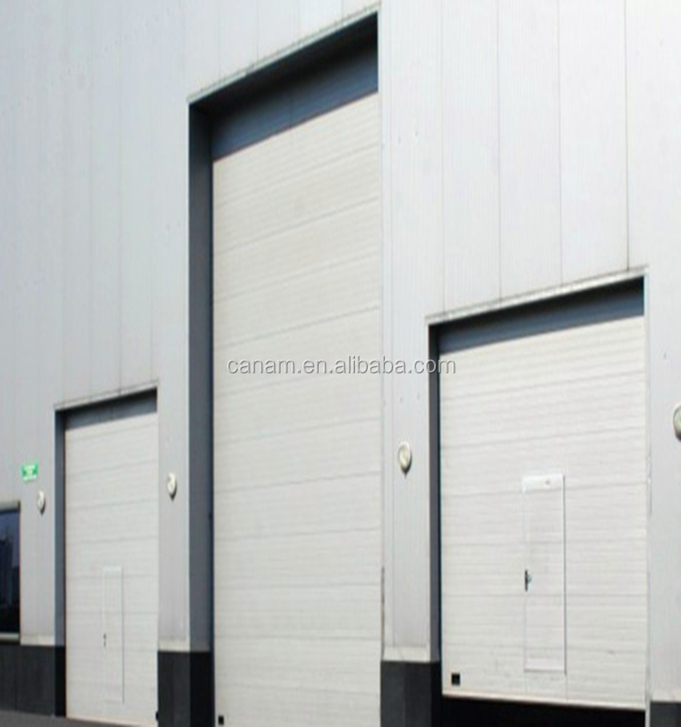 Warehouse industrial automatic rolling door , galvanized automatic steel rolling shutter door