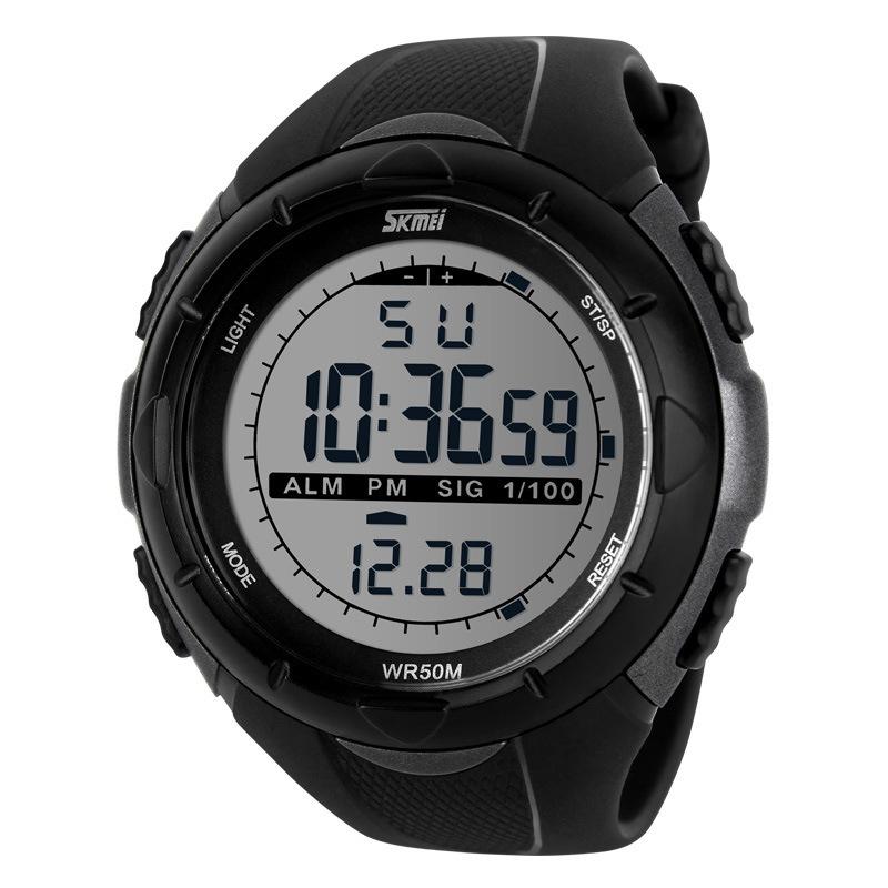 2da0ffe9aa9c Waterproof Sport Watch Relogio Masculino Male Clock Led Digital Watches Men  Brand Casual Military Stopwatch Dive