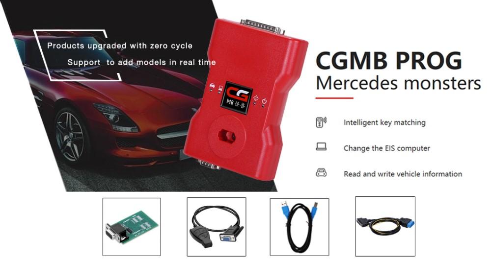 Nieuwe Cdgi Mb Auto Programmeren Software Key Programma