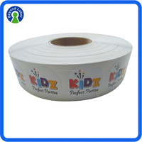 Permanent Waterproof Roll Customised Adhesive Company Logo Sticker