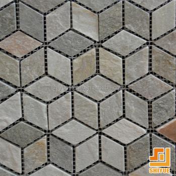 Outdoor Mosaic Floor Tiles Landscaping
