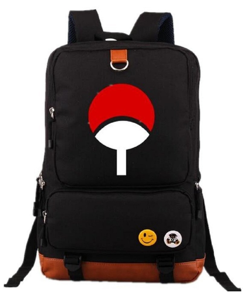 498fcc42aa Get Quotations · YOYOSHome Anime Naruto Cosplay Bookbag Messenger Bag  Backpack School Bag