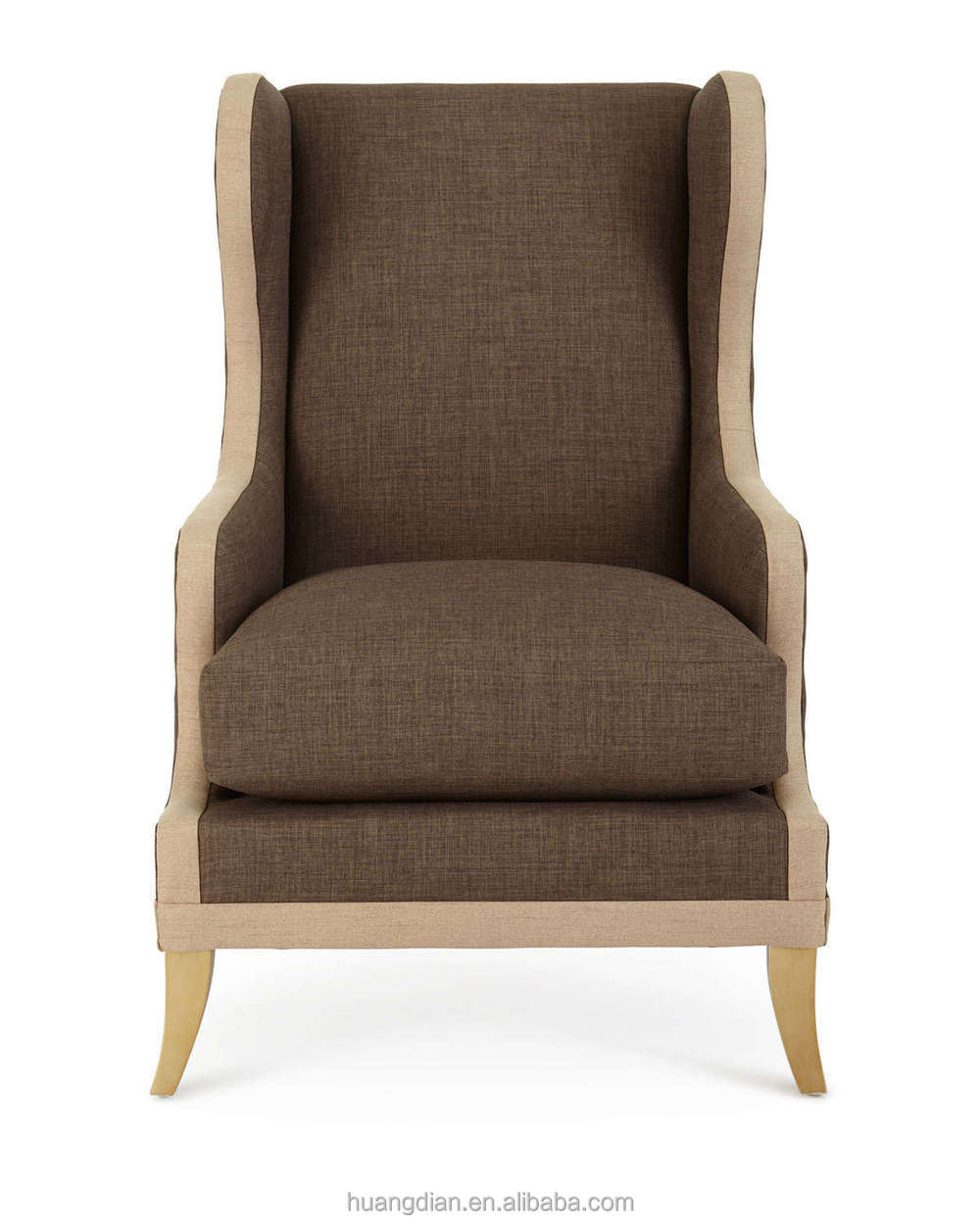 High Back Braunn Wing Chair Sofa Seat Hotel Room Furniture Bed Room Set Buy High Back Braunn Wing Chair Sofa Seat Hotel Room Furniture Single Sofa