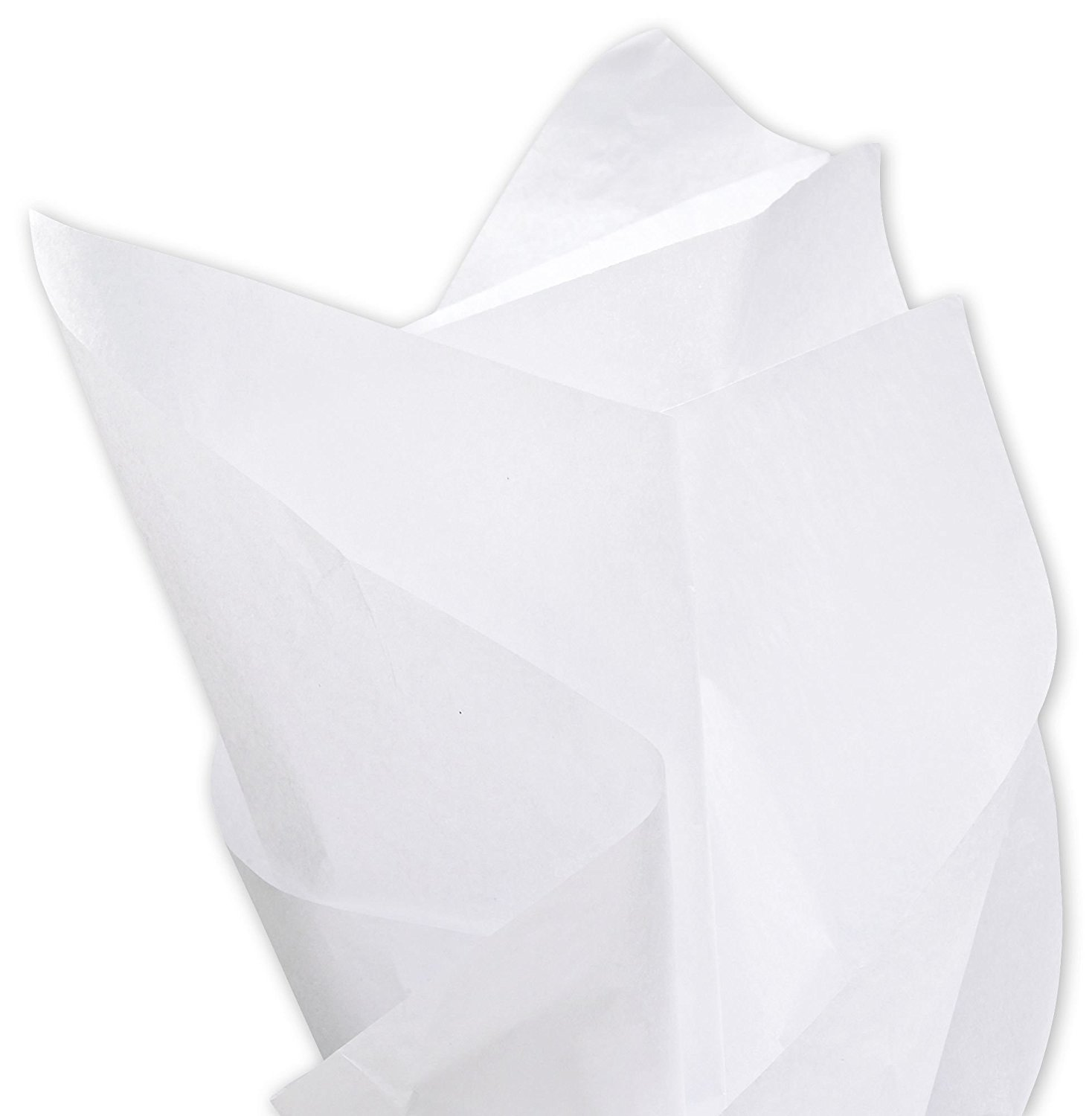 "Solid Tissue Paper - Solid Tissue Paper, White, 15 x 20"" (960 Sheets) - BOWS-11-1520-9M"