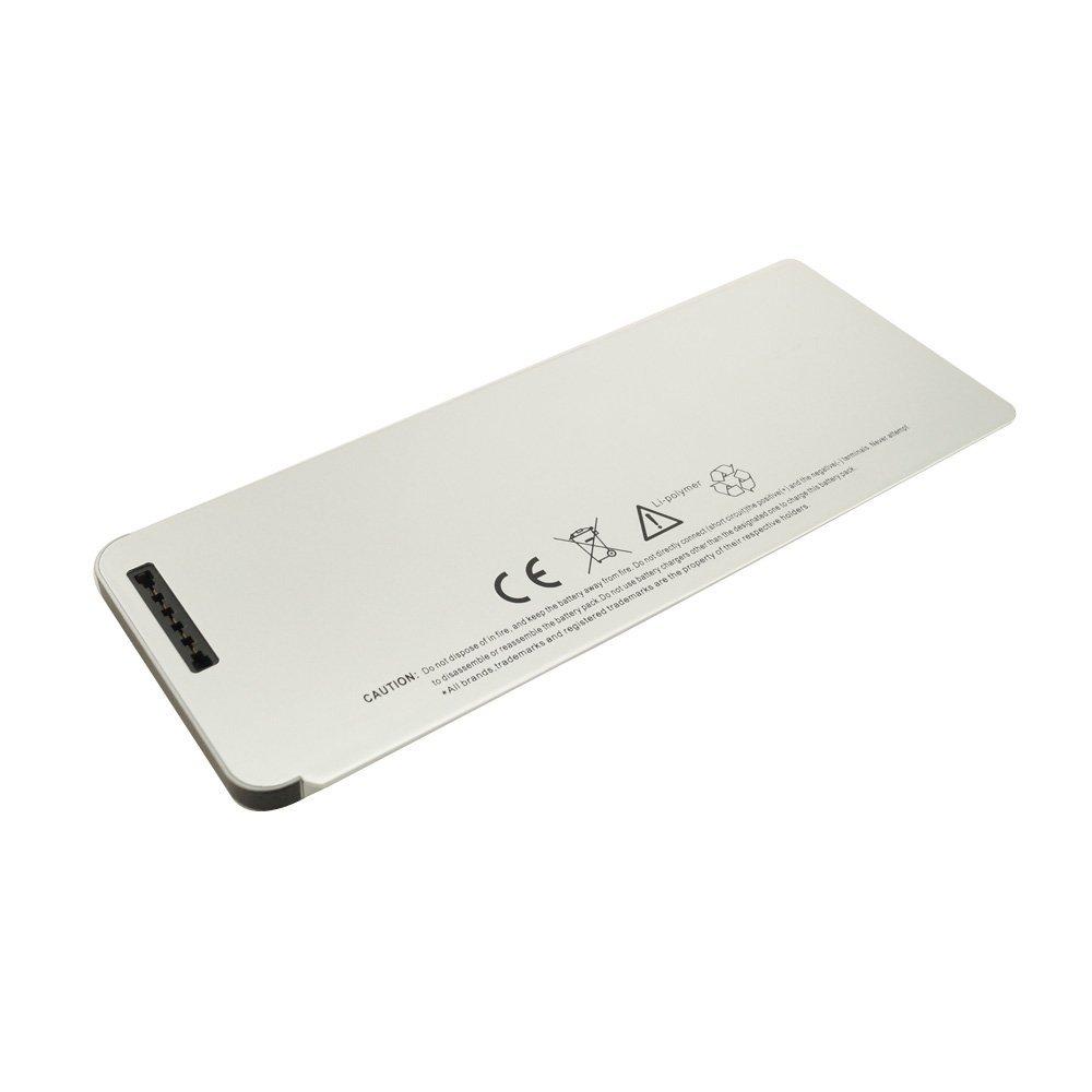 Elecbrain New Laptop Battery for Apple MacBook 13 A1278 A1280 [2008 Version] Aluminum Unibody MB467LL/A / MB466LL/A MB771G/A - 12 Month Warranty [Li-Polymer 6-cell 5200mAh]