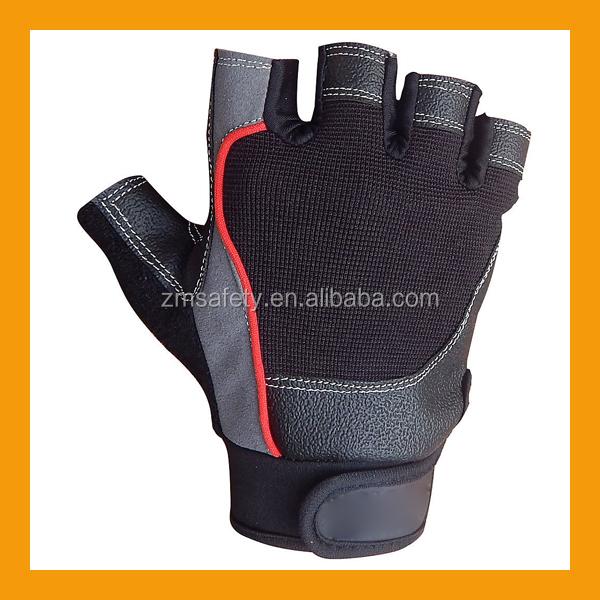 Personalized Fitness Gloves: Cheap Half Finger Exercise Training Gloves/custom Leather