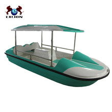water sports water games fiberglass pedal boat for sale