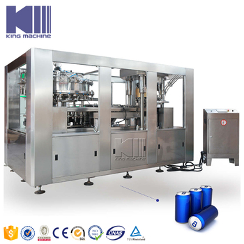 Full automatic canning beer machine King Machine