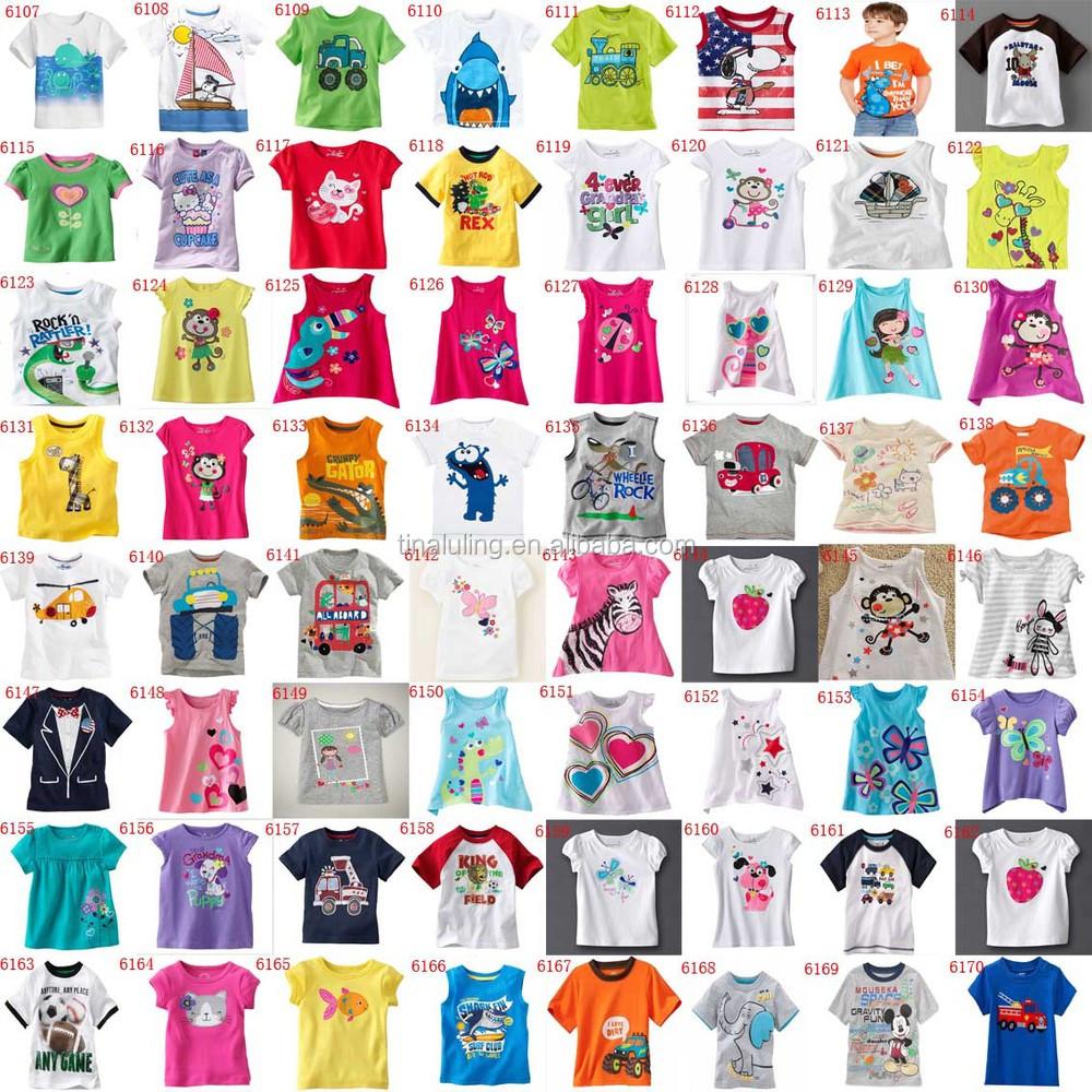 2015 New Design Printing Children\'s T Shirts Kids T-shirts Design ...