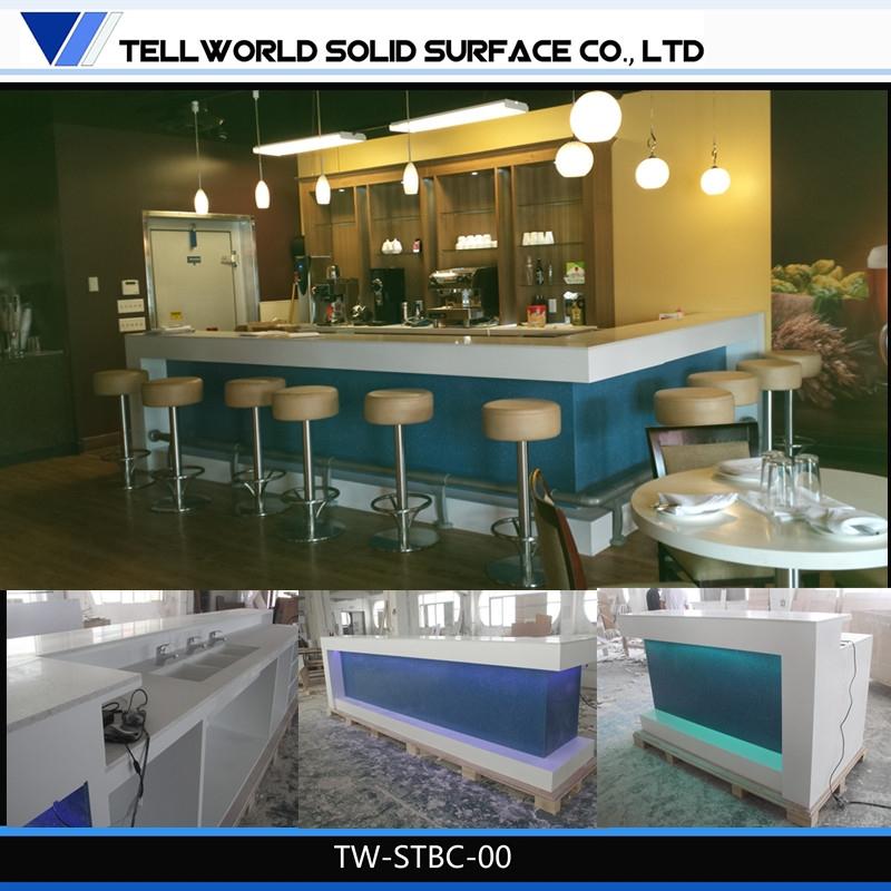restaurant comptoir de bar design moderne sushi bar. Black Bedroom Furniture Sets. Home Design Ideas