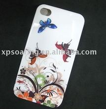 Butterfly Hard case skin back cover for iphone 4 4G