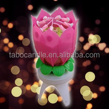 Amazing lotus flower musical birthday candle buy amazing lotus amazing lotus flower musical birthday candle mightylinksfo