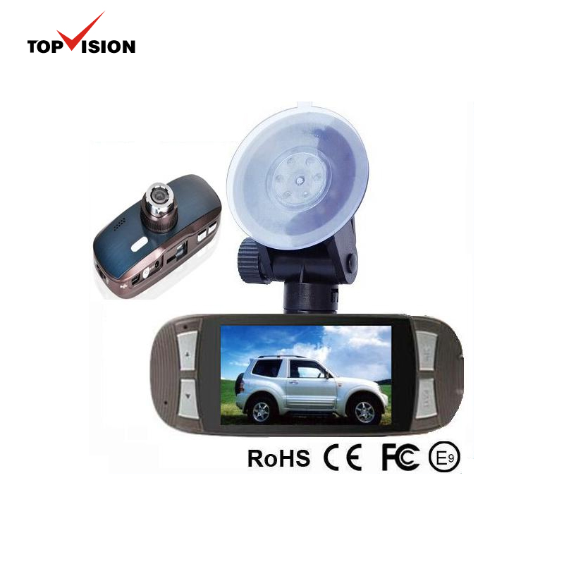 "Chipset 96650 H.264 1080P Car DVR 2.7"" LCD Recorder Video Dashboard Vehicle Camera w/G-sensor/HDMI/WDR"