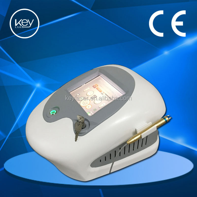 Portable best effective at first treatment 980nm spider vein removal machine vascular remover