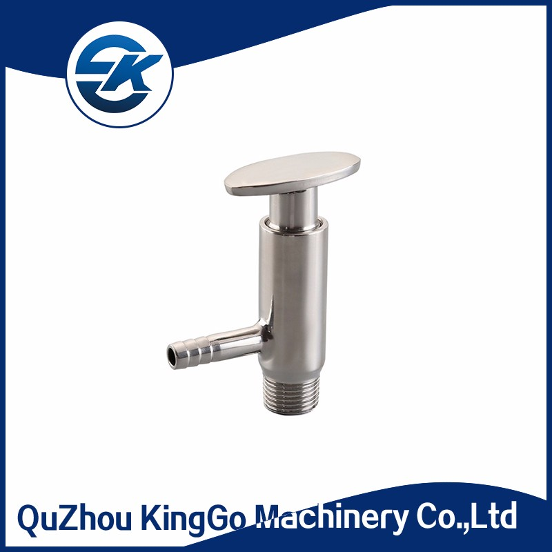 Stainless Steel SS304 and SS306L Sanitary Sample Valve With Tri Clamp  Fittings, View sanitary sample valve, Kinggo Product Details from Quzhou  KingGo
