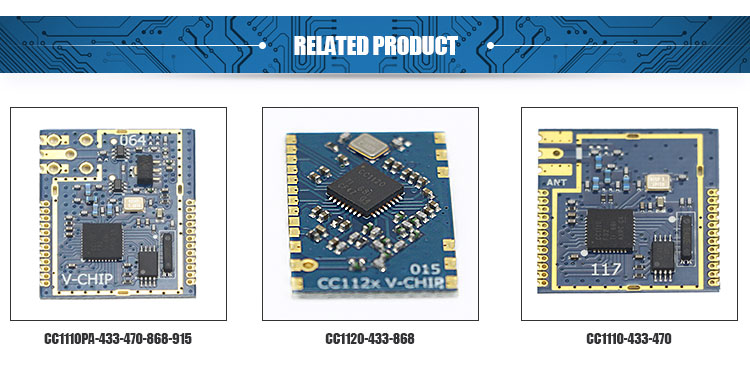 best price programmable 1000m 2.4GHz ask receiver rf module for wireless transmitter module