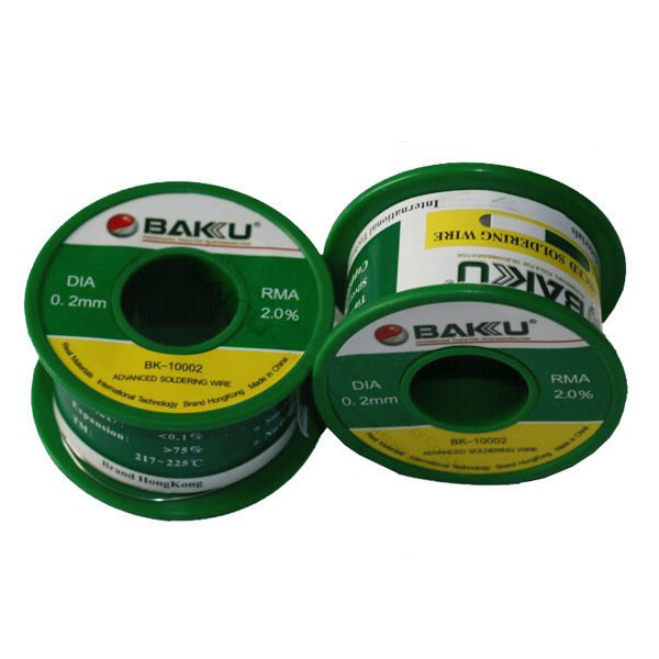 BAKU High quality low price lead-free solder wire low melting solder wire 50g BK 10002