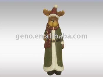 fiber glass animated christmas angel figurine with best price
