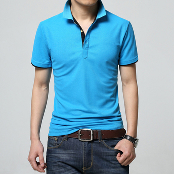 Cheap Plain 100% Cotton Pique Polo Tee Shirt High Quality Customized