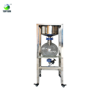 50l Lab Stainless Steel Vacuum Filter Topt-cl-50 Industrial Filtration Equipment