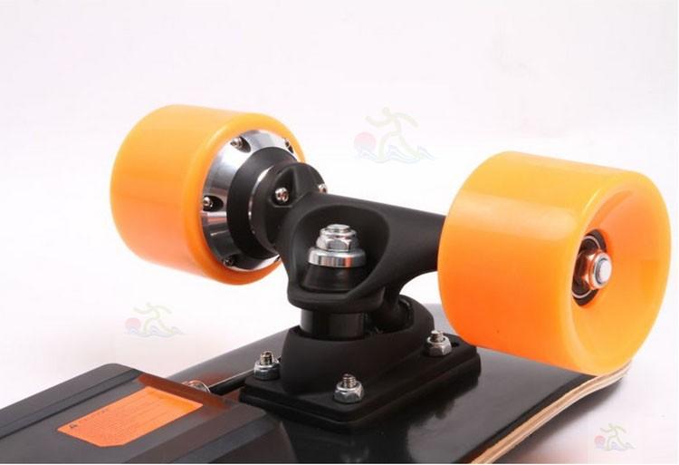 Outdoor sports skateboard remote control cheap longboard for Motorized outside air damper