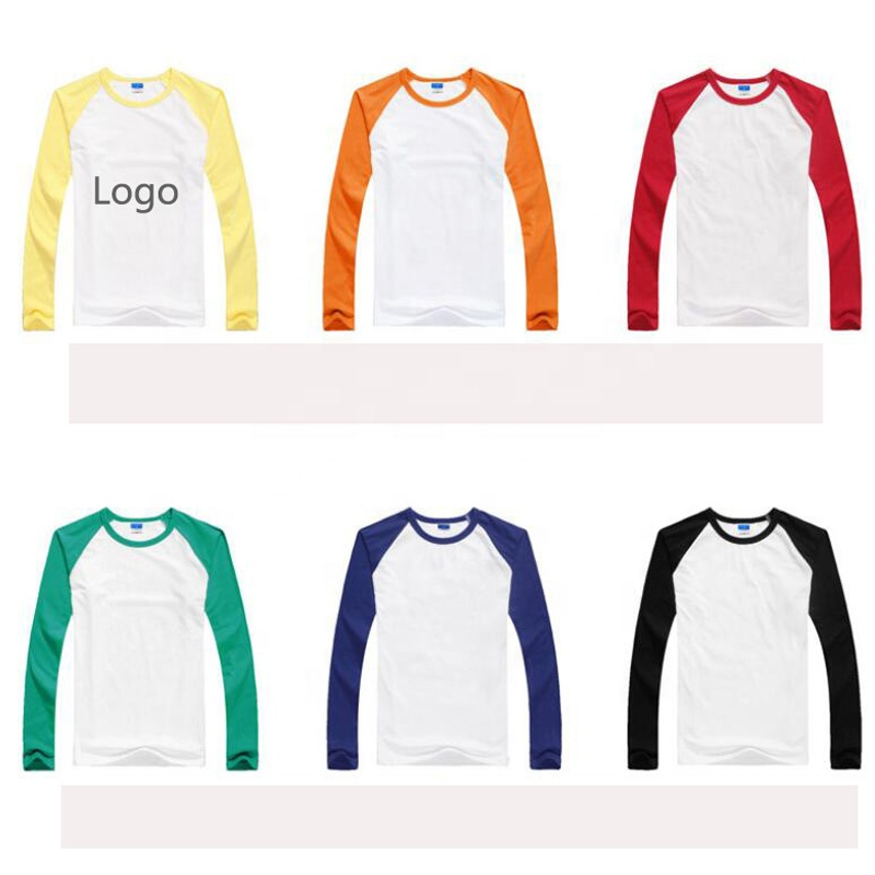 1172f863d Precio barato material de algodón de impresión personalizado Camiseta de  manga larga hombres para publicidad promocional