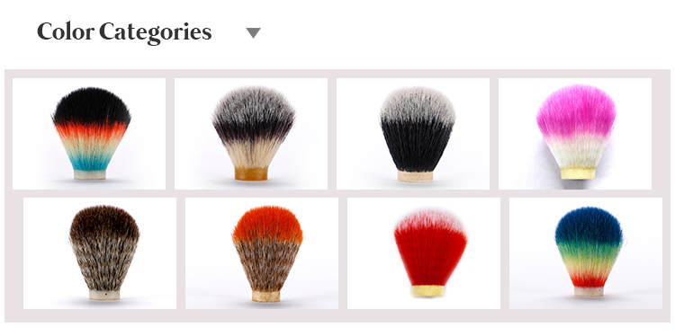 Synthetic hair Shaving Brush Knot beard brush